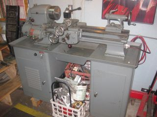 Logan 11x24 Metal Lathe 1935 - 2 Variable Speed Vfd Single Phase photo
