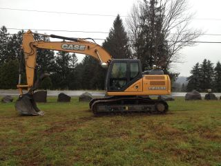 2013 Case Cx160c Excavator 136 Hrs photo
