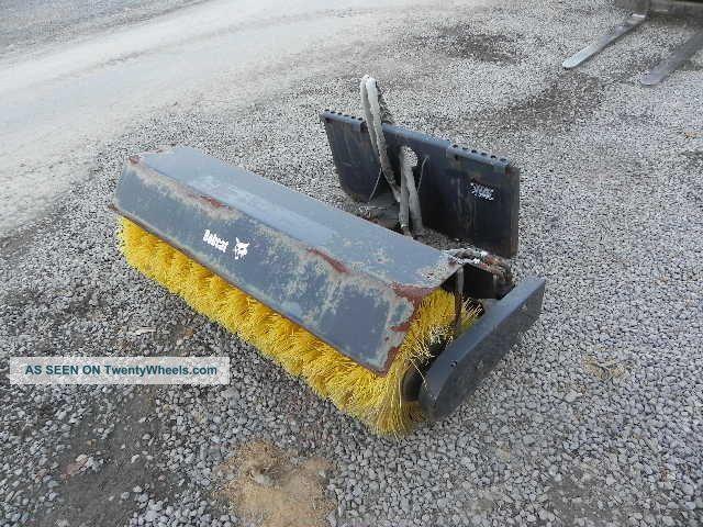 2008 Bobcat 48 Quot Angle Broom Sweeper Mt50 Mt52 Mt55 463 70