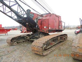 50 Ton American 5299 Crawler Crane.  1980 American 5299 Crane.  50 Ton Crawler Crane photo