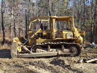 1979 Caterpillar D6d Crawler Dozer With Working Winch Strong Bottom photo