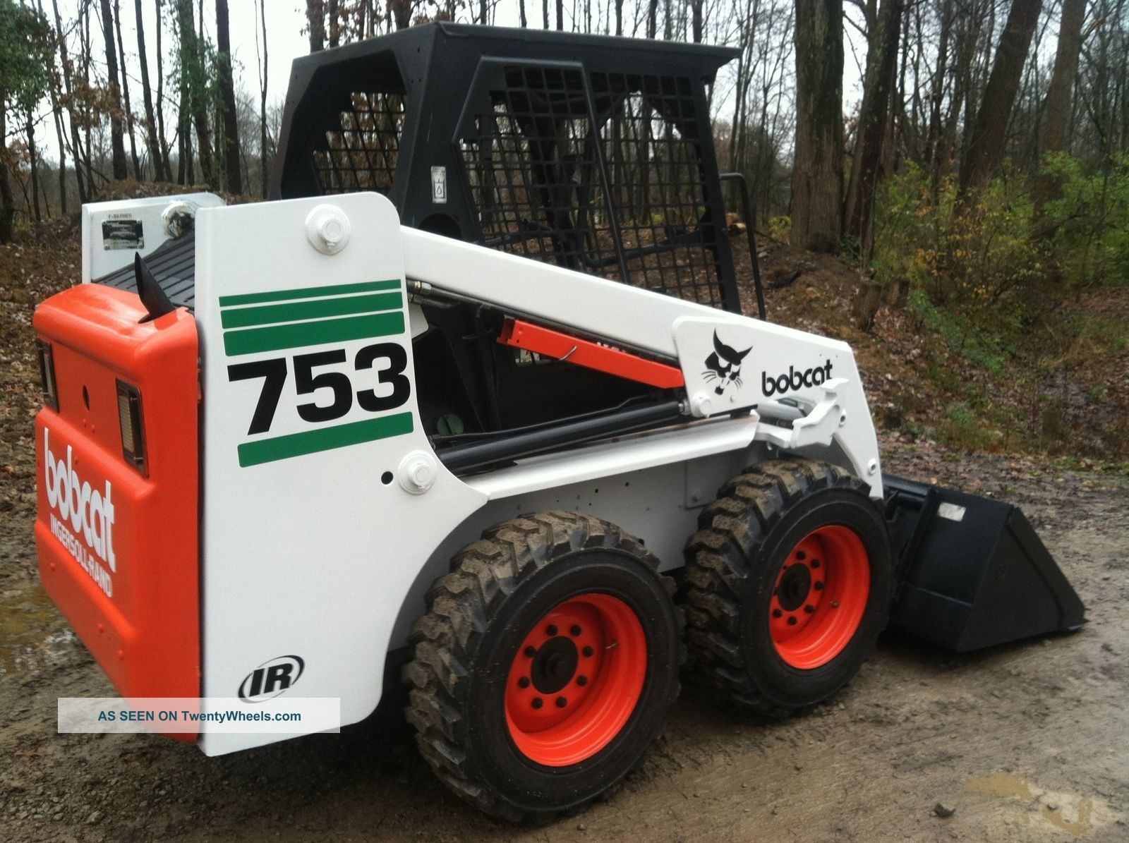 Bobcat 753 Skid Steer Loader Will Ship