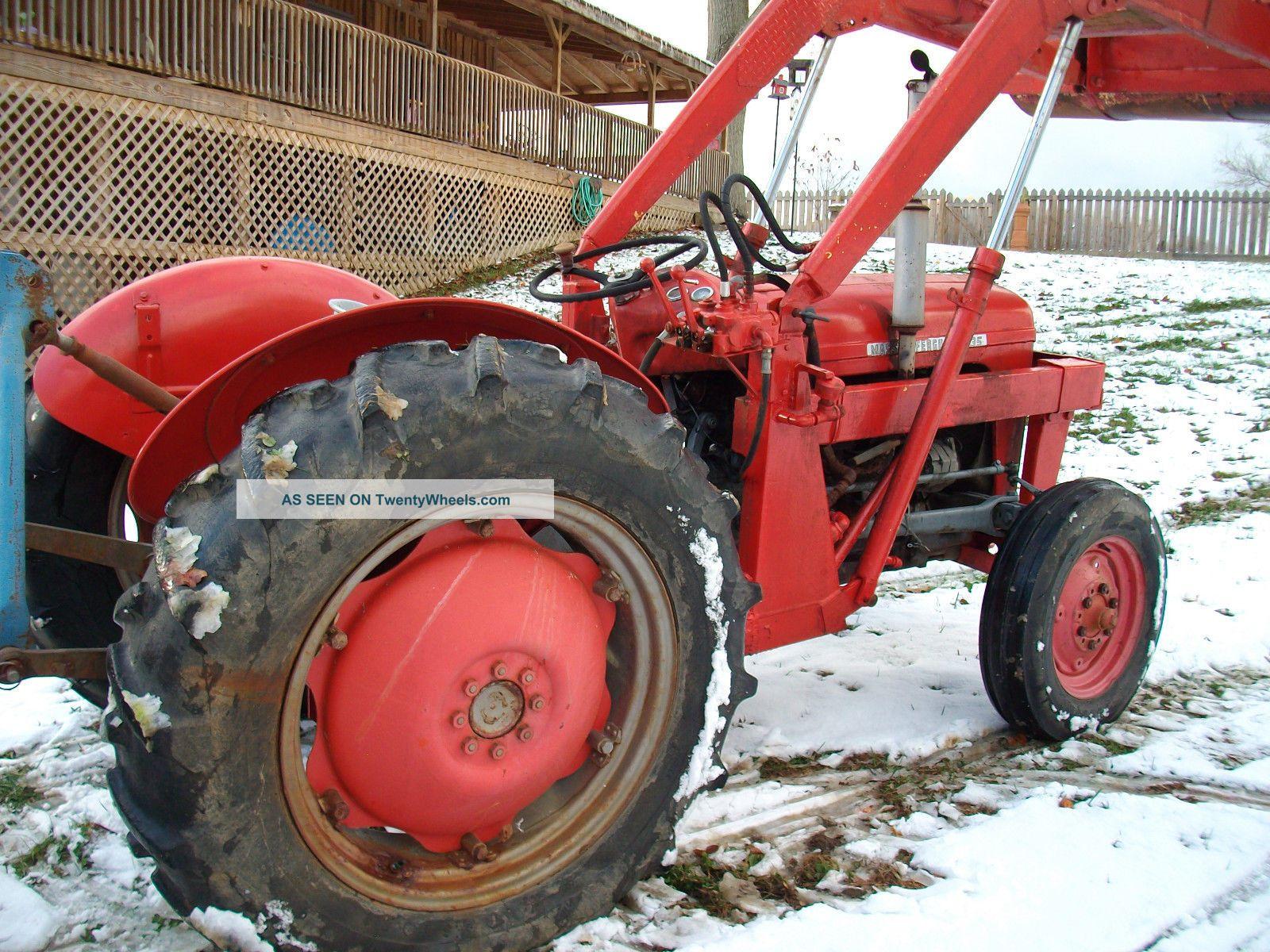 Massey Ferguson Model 35 : Tractor massey ferguson model
