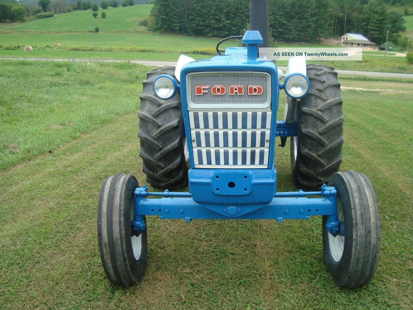 Ford 5000 Tractor Manual : Ford diesel tractor hp