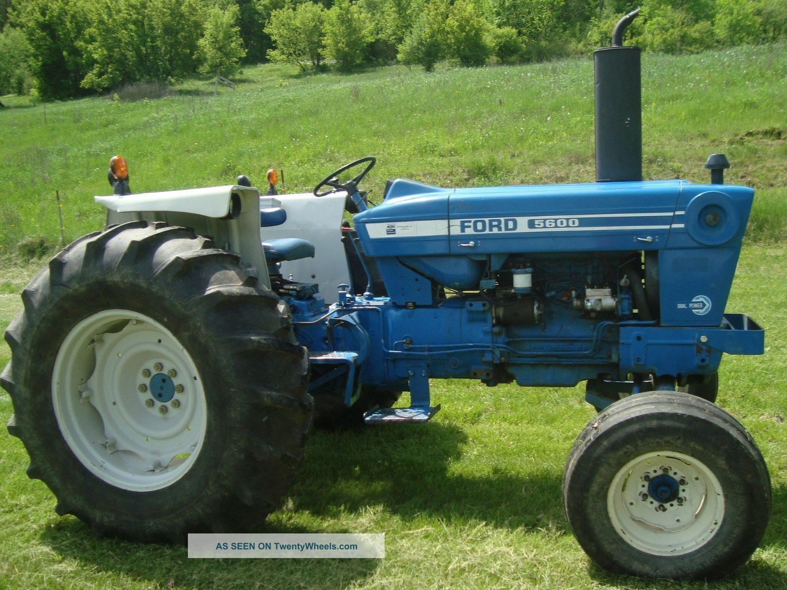 Ford 5600 Tractor : Ford diesel tractor dual power hp