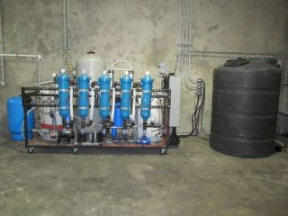 Industrial Water Filtration System Reverse Osmosis De - Ionizing 5000 Gpd photo