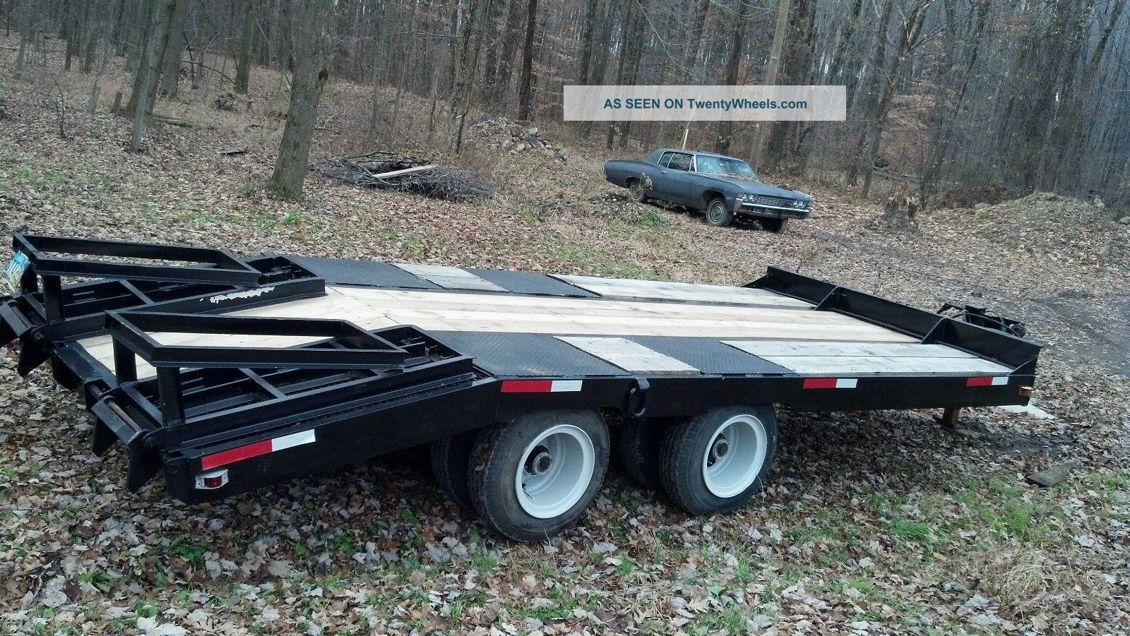 Heavy Equipment Trailer : Heavy equipment trailer