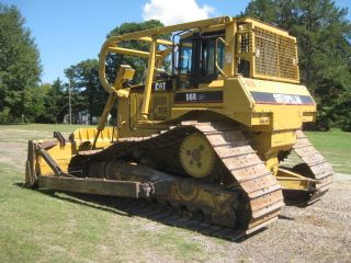 2004 Cat D6r Lgp Ii Crawler Tractor Bulldozer - Watch It In Action photo