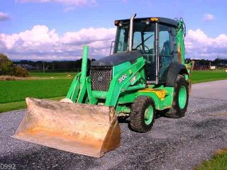 2006 John Deere 310g Tractor Loader Backhoe,  4x4,  Cab,  Extendahoe, photo