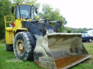 Wheel Loader - Volvo 1988 L140 Equal Size To Cat 966c 29,  500. photo