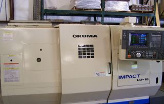 Okuma Lu - 15 Cnc Lathe photo
