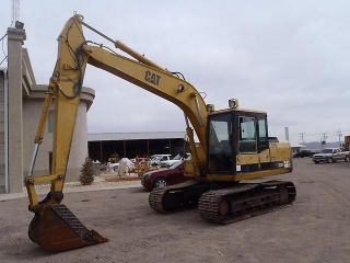 Caterpillar E120b Excavator Loader Heavy Equipment photo