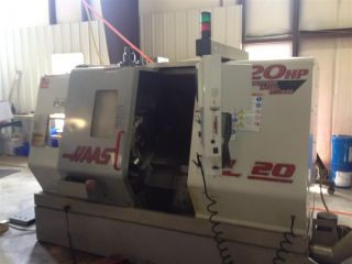 1999 Haas Sl - 20t Cnc Turning Center W/ Live Tooling Full C Axis Lathe Servo 300 photo