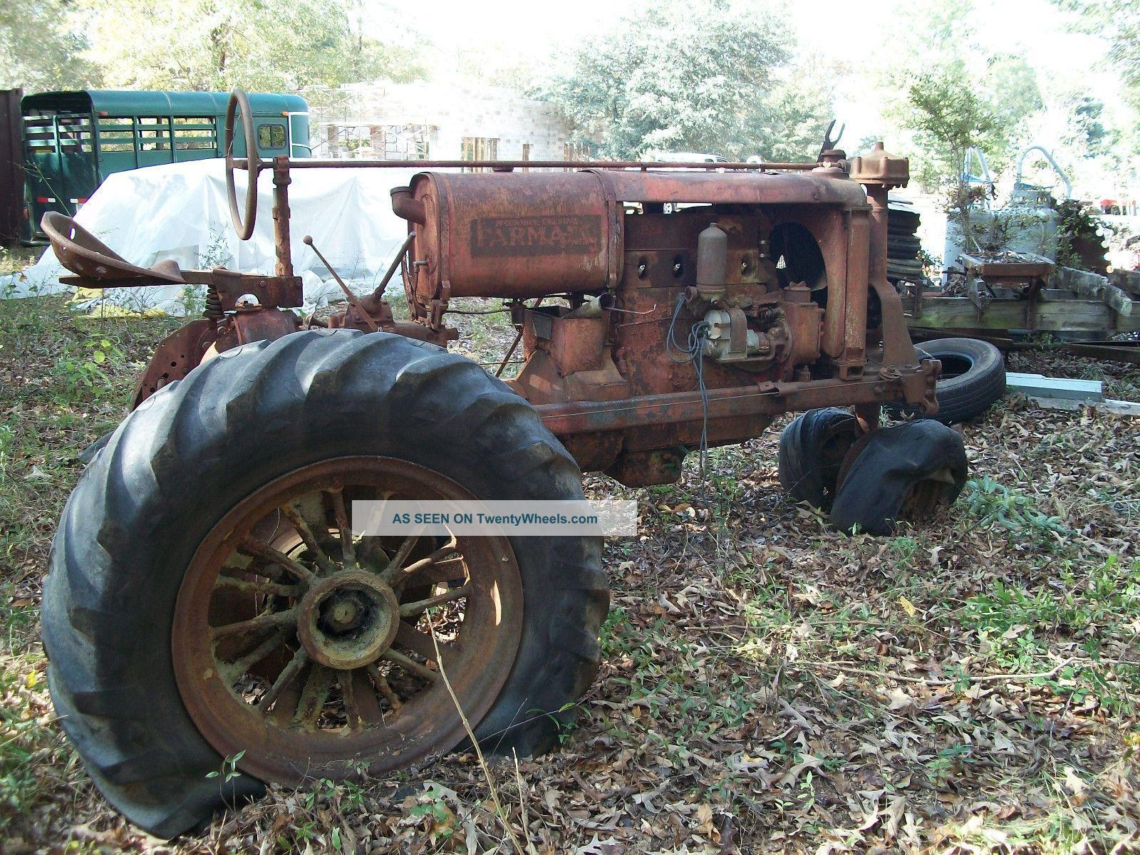 Farmall F 30 : Mccormick deering farmall f antique vintage