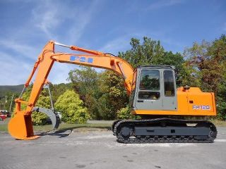Fiat Hitachi Ex Fh 120 Excavator Trackhoe With Thumb photo