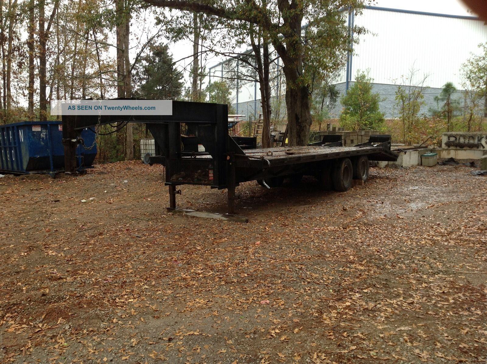 Heavy Equipment Trailer : Gooseneck heavy equipment trailer
