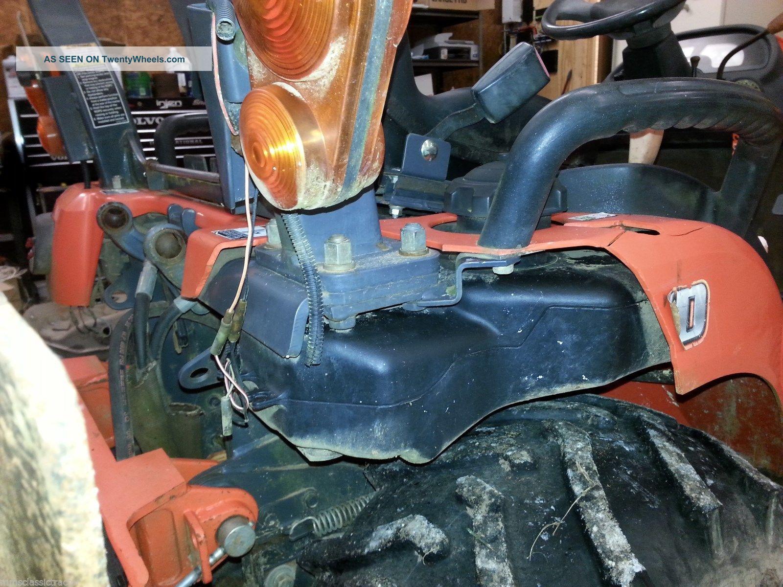 Power Steering Kits For Kubota Tractors : Kubota bx d compact diesel power steering tractor