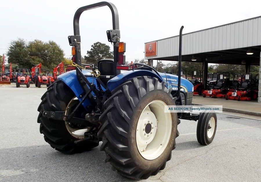 Holland Workmaster Wd Tractor Hours Stock U Lgw