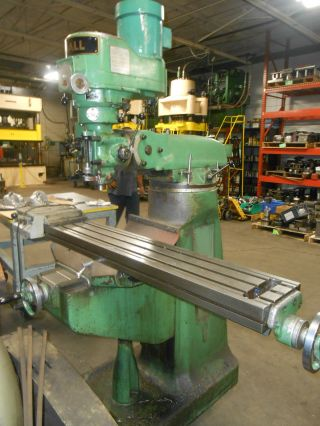 Doall Knee Mill 3hp photo
