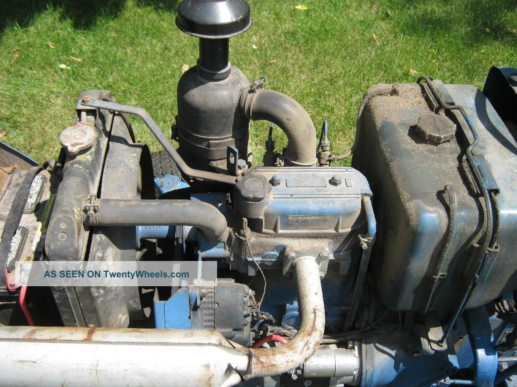 1982 Ford 1700 Diesel Tractor