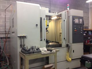 Hardinge Xv710 Cnc Milling Center Equipped With Fanuc Oimc Control X28.  00 Y18.  00 photo