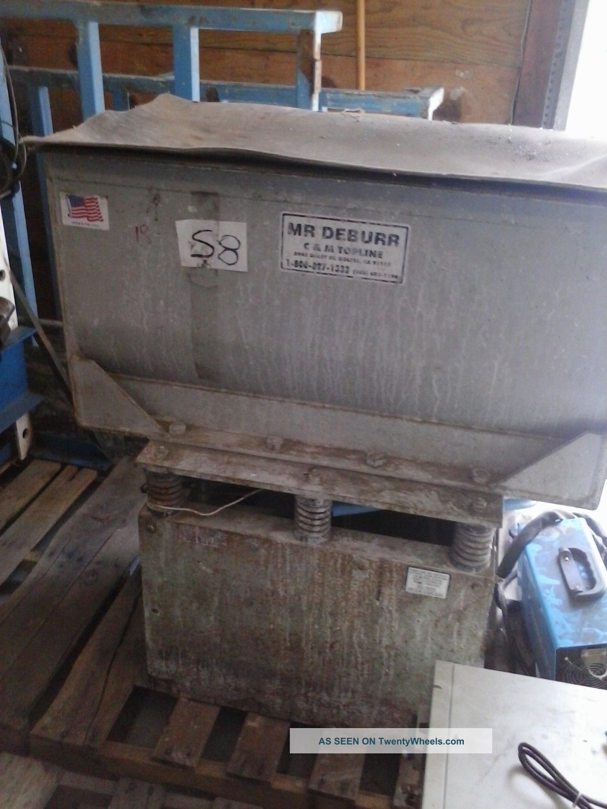 Mr Deburr Vibratory Tumbler Machine Finishing Machines photo