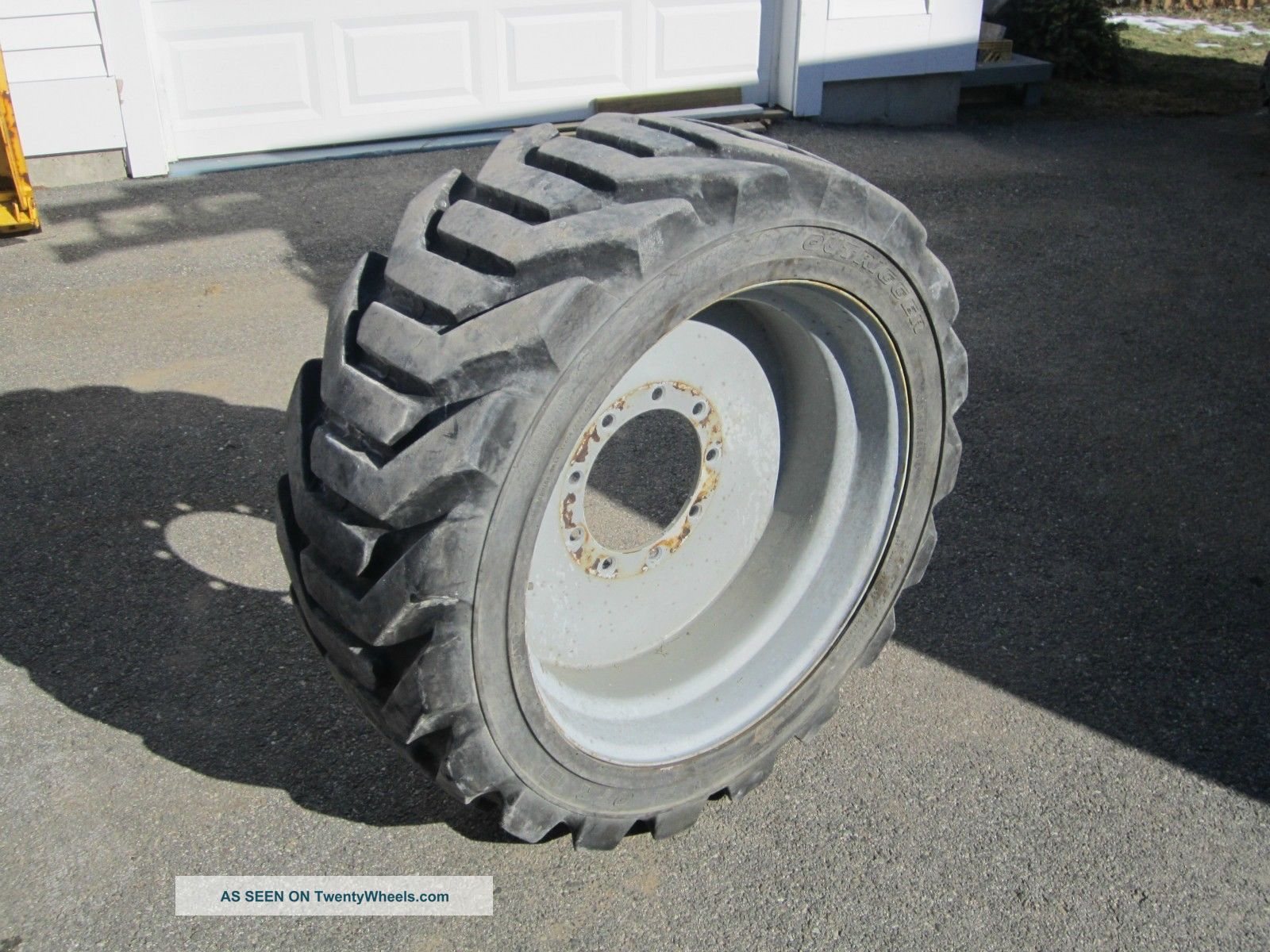 Aerial Boom Lift Tires And Rims