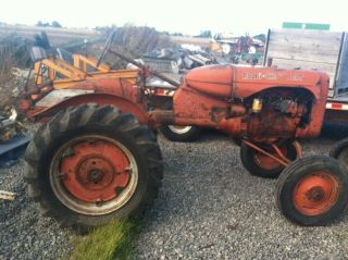 Two (2) Allis Chalmers B Tractors photo