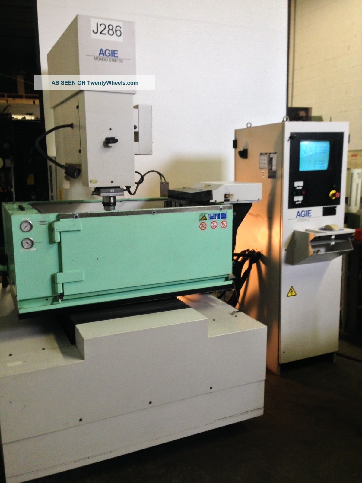 Agie Elox Mondo Star 50 Cnc Sinker Edm W/ Atc - 3000 Edm Hours EDM Machines photo