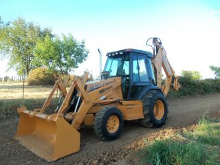 Case 590 L Extendahoe 4x4 Backhoe photo