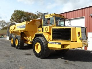 1995 Volvo A35 Off - Highway Articulating Dump Truck 6x6 Tailgate Look photo