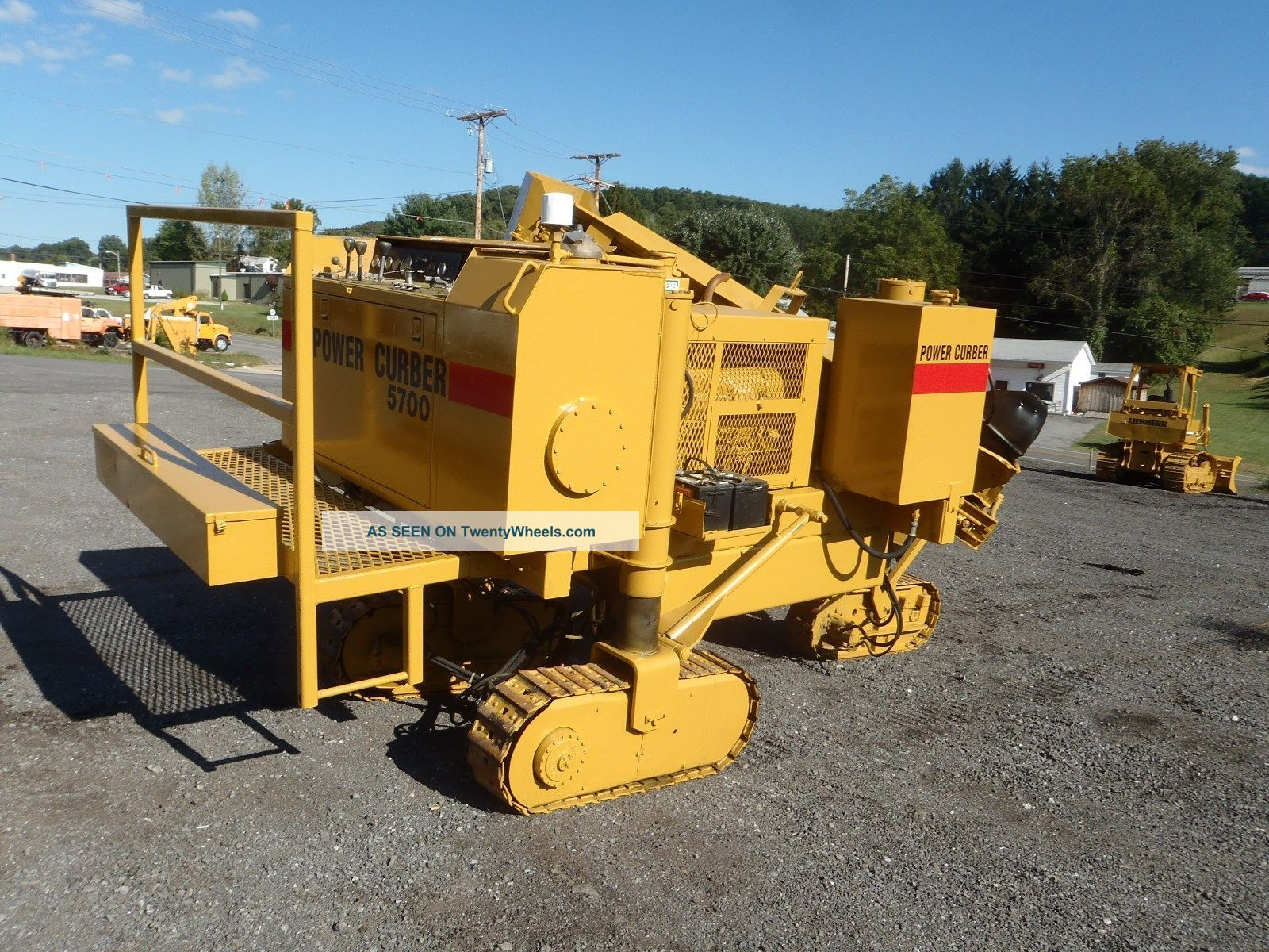 Power Curber 5700 Concrete Curbing Machine