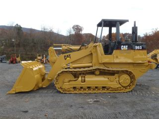 1987 Caterpillar 963 Crawler Loader U/c In Good Shape Big Machine Ready Go photo