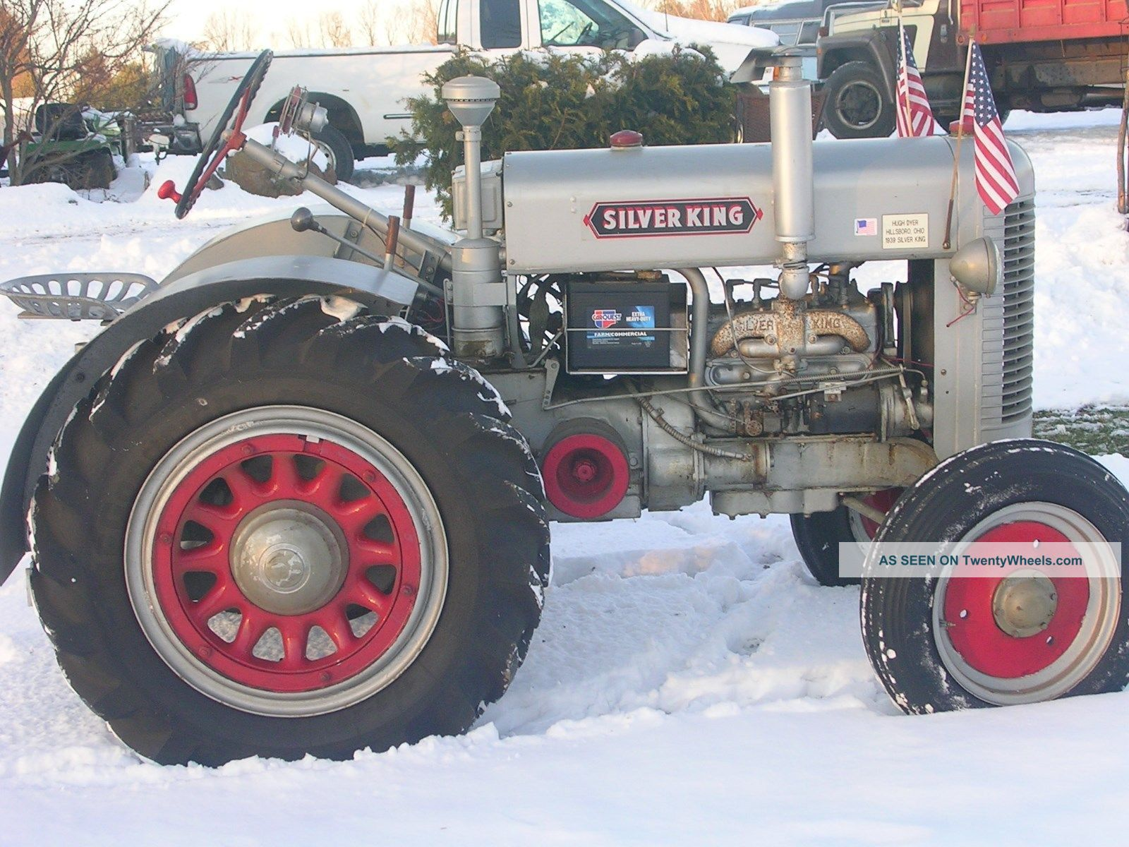Antique Tractors In Ohio : Silver king ohio antique tractor