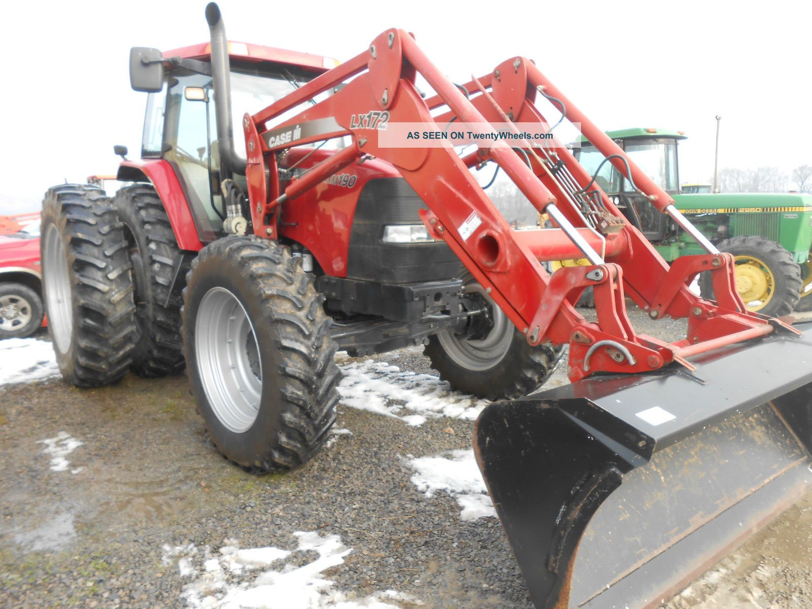 Case - Ih Mxm 190 4x4 46  In Dauls With Case Lx172 Loader