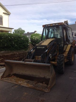 2000 Caterpillar Backhoe 416c It photo