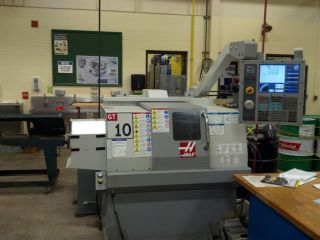 2007 Haas Gt - 10 Cnc Turning Center Lathe With 8 Station Turret Option photo