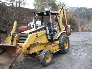 Cat 416b Tractor/loader/backhoe photo