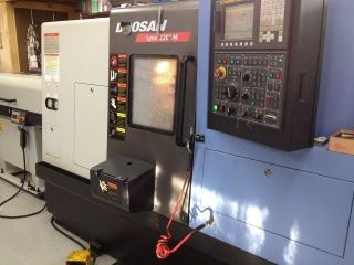 2010 Doosan Lynx 220lm Cnc Live Tool Lathe Turning Center Fanuc Full C Axis Tail photo