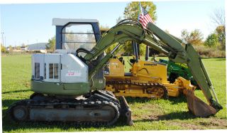 Ihi Excavator Model: 45uj3 Isuzu 40hp Diesel Engine; 10,  000lb Machine; Tracked photo