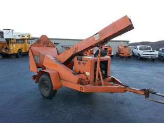 1997 Altec Wc612 Brush Chipper,  6 Cyl Gas,  2,  400 Hrs,  Tires photo