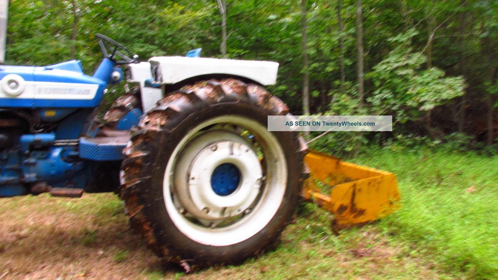 Ford Tractor Rims : N ford tractor rims