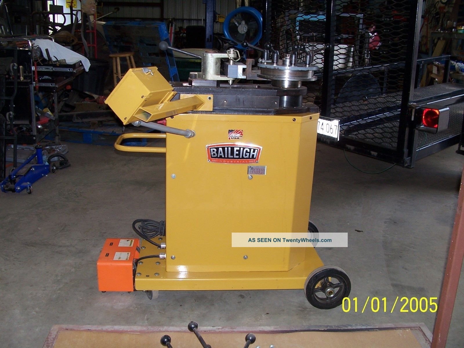 Baileigh 250 Pipe And Tube Bender Metal Bending Machines photo