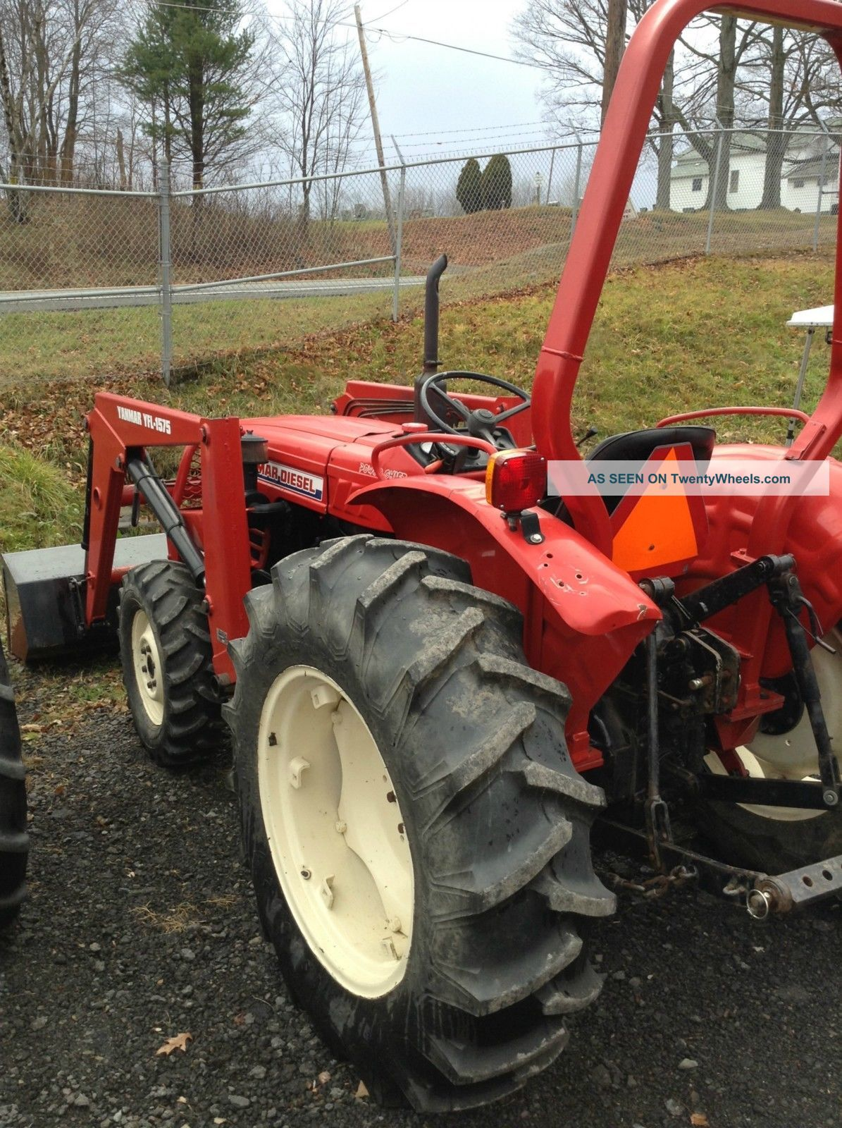 Yanmar D Compact Tractor Wd W Loader Power Shift Transmision Point Hitch Lgw on Yanmar Diesel Tractor 4wd