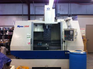2001 Daewoo Mynx 500 Cnc Vertical Machining Center 40x20 Mill Fanuc Box Ways Ct photo