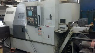2002 Mori Seiki Zl200 Smc Cnc Lathe W/ Sub Spindle,  Live Tooling,  Cond. photo