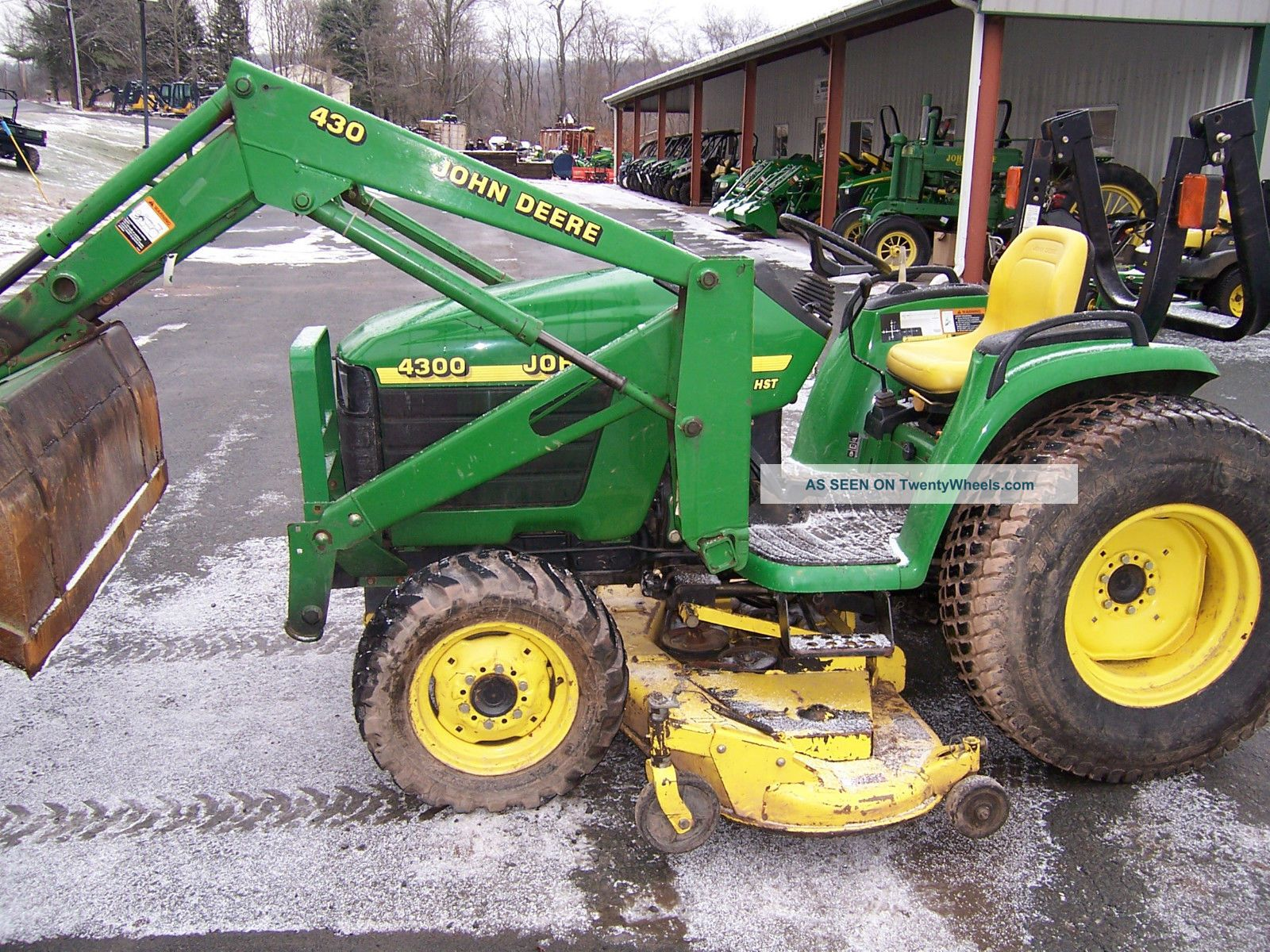 John Deere Tractor Loader Lgw