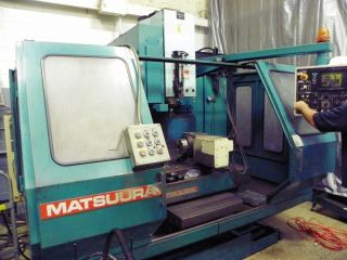 Matsuura Mc - 760vx 4 - Axis Cnc Vertical Machining Center photo