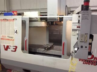 2001 Haas Vf - 3 Cnc Vertical Machining Center 40x20 Mill Ct40 32 Atc 5th Axis Rdy photo