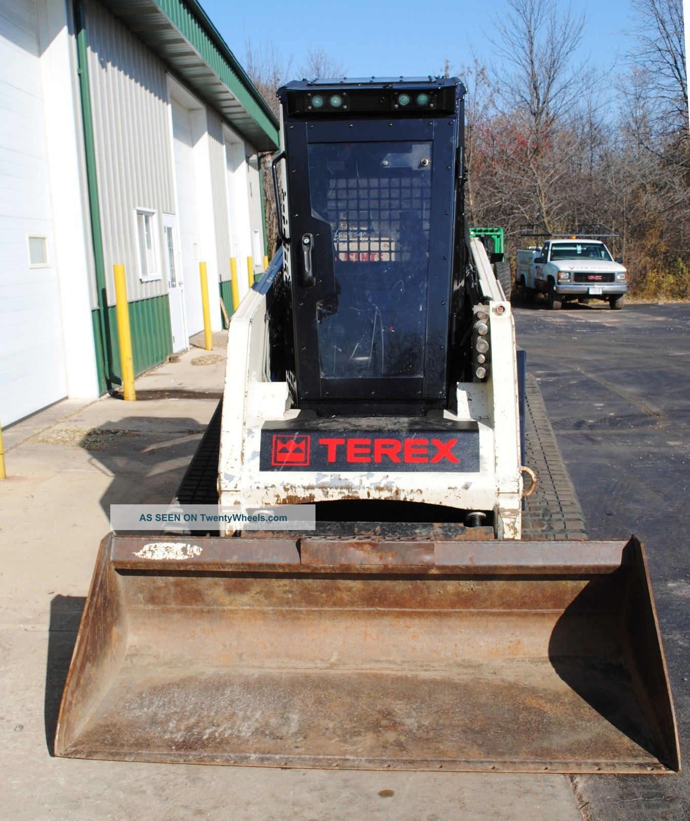 Tractor Forestry Package : Terex tracked skid steer forestry package high flow